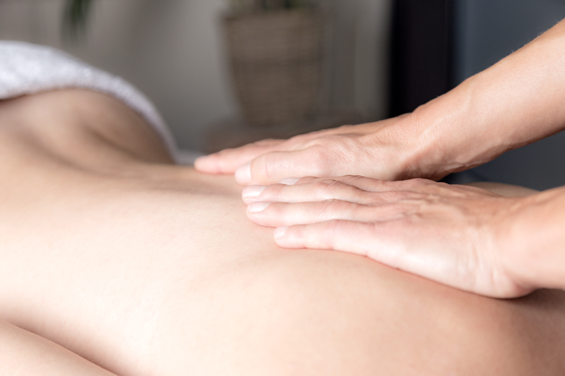 Ontspanning Massage Touch of Health Hellevoets