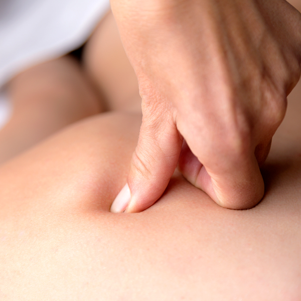 Triggerpoint massage Touch of Health Hellevoetsluis